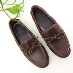 Cole Haan Leather Air Grant Driving Moccasin